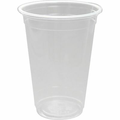 "FonChef Disposable PP Plastic Cups 16 oz 500 CC 95mm 3.8"" Bundle Pack"