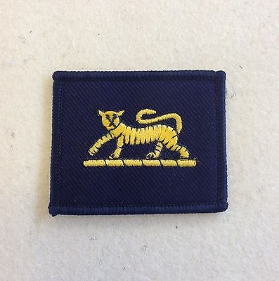 PWRR TRF, Princess of Wales Royal Regiment, Tiger, Army, Military, Patch, Badge