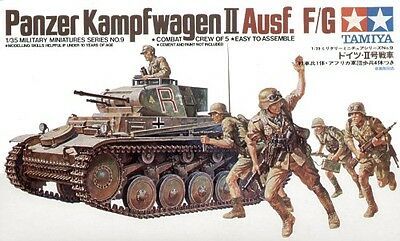 Tamiya 1/35 Panzerkampfwagen II with crew of 5 # 35009