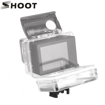 Waterproof BacPac Screen Case Expansion Back Door Cover Shell f GoPro Hero 3/3+4
