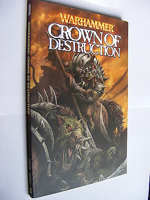 Warhammer 40,000 graphic novel Crown of Destruction PB 1st edition issues 1-4