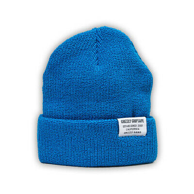 GRIZZLY Skateboard GOLD BEANIE CERTIFIED Blue