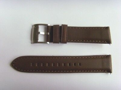 FOSSIL Original Ersatz Lederarmband ME3027 Uhrband watch strap braun brown 22 mm