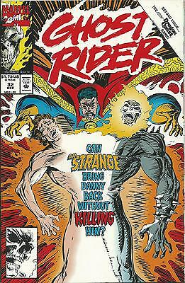 Ghost Rider #32 (2Nd Series)  (Marvel)  1990