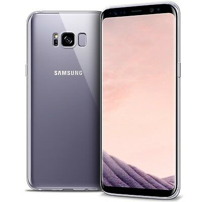 Coque Samsung Pour Galaxy S8 Crystal Souple TPU Gel Transparent Extra Fin 1mm