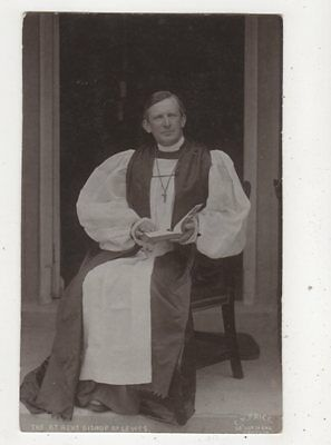 The Bishop Of Lewes Sussex Vintage RP Postcard CH Price