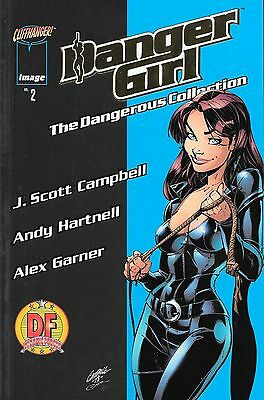 Danger Girl The Dangerous Collection 2 Dynamic Forces Gold Foil with Certificate