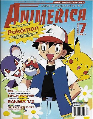 Animerica No.7 / 1999 Pokemon - The Multimedia Phenomenon!