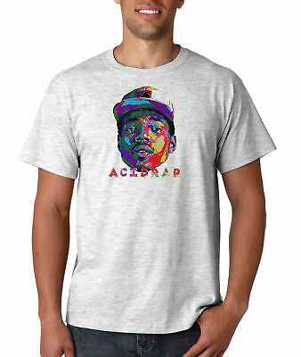 Chance The Rapper Acid Rap T Shirt Hip Hop Music Tee Rapper T-Shirt New