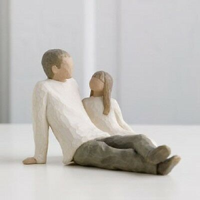 Father and Daughter Willow Tree Figurine by Susan Lordi Demdaco 26031