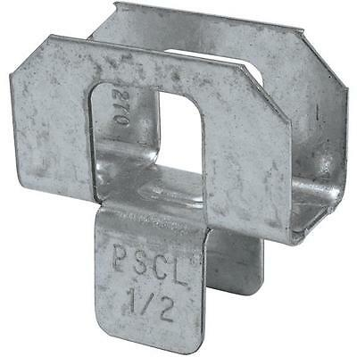 """250 Simpson Strong-Tie 1/2"""" Steel Plywood Panel Support Sheathing Clip PSCL 1/2"""