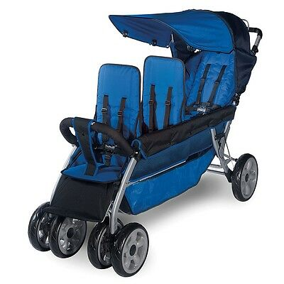 Foundations LX Three Passenger Stroller - Regatta