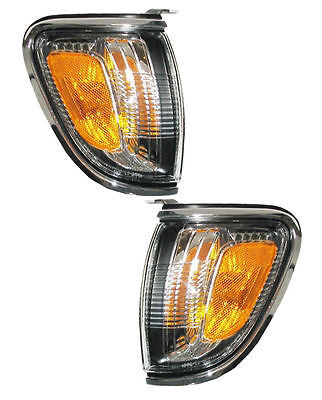 PAIR Corner Lights - Driver & Passenger Side - Fits 2000-2001 Lexus ES300