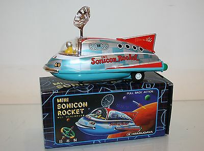 Masuday Space Toy SONICON ROCKET im OKT (Made in Japan)