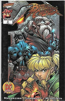 Battlechasers No.2 1998 Dynamic Forces Battlechrome Variant Cover w. Certificate