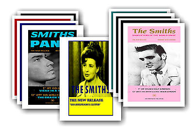 THE SMITHS  - 10 promotional posters - collectable postcard set # 1