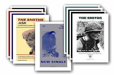 THE SMITHS  - 10 promotional posters - collectable postcard set # 2