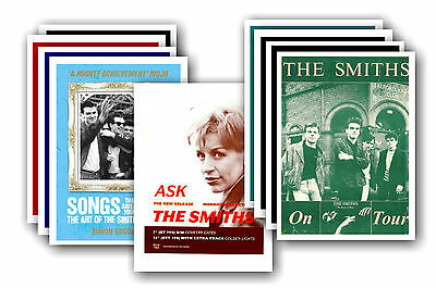 THE SMITHS  - 10 promotional posters - collectable postcard set # 4