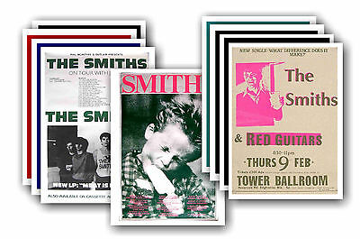 THE SMITHS  - 10 promotional posters - collectable postcard set # 5