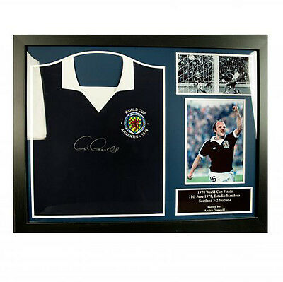 Scotland F.A - Framed Signed Shirt (ARCHIE GEMMILL)