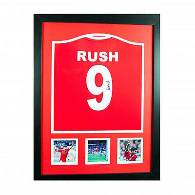 Liverpool F.C - Framed Signed Shirt (IAN RUSH)