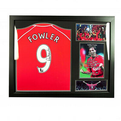 Liverpool F.C - Framed Signed Shirt (ROBBIE FOWLER)
