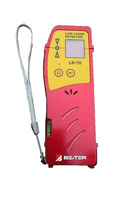 Beiter No. LR-70, Linear Laser Receiver (Detector) and Clamp  For Red Laser