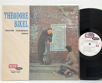Theodore Bikel         Chansons Yiddish          NM # X