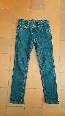Girls Next Blue Skinny Jeans Age 9 Vgc