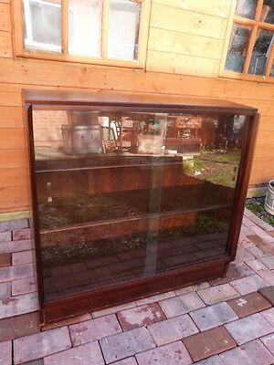Vintage Mid Century E Gomme G Plan Sloping Glass Front Adjustable Bookcase.