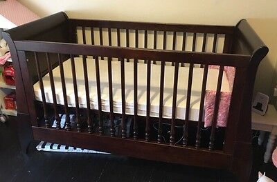 Sleigh Cot / Toddler Bed - Mamas & Papas Collection Only - Handforth