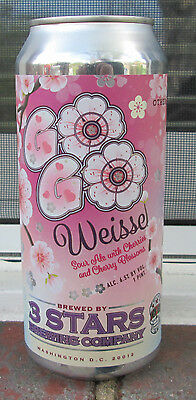 Weisse by 3 Stars in DC and Other Half Brewing from Brooklyn