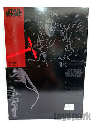 "SDCC 2016 STAR WARS Black Series 6"" KYLO REN Unmasked Exclusive action figure"