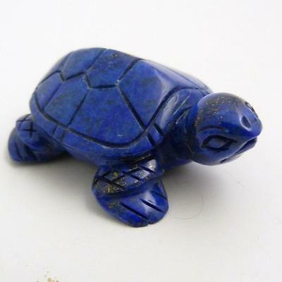 Chinese Carved Lapis Lazuli Figure Of A Turtle