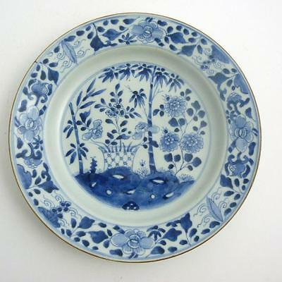 Chinese Blue And White Porcelain Charger / Large Plate, Kangxi Period