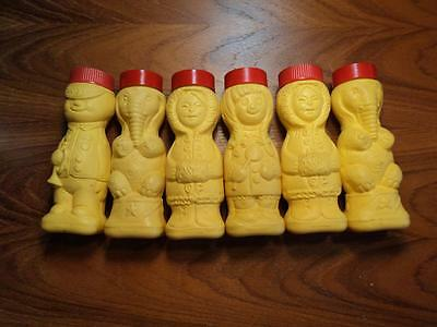 Vintage Sugar N' Cinnamon Shakers American Sugar Co N Y Bank Lot Of 6