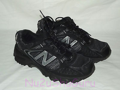 NEW BALANCE 412 Black/Gray Trail Running Sneakers Mens Size 10.5 D
