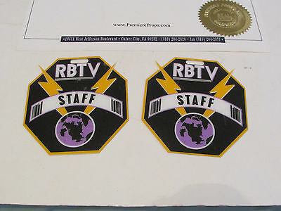 Adventures of Rocky and Bullwinkle RBTV Staff Badges Movie Props COA