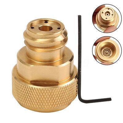 Sodastream CO2 Adapter Replace Tank Paintball Canister Conversion Canister Brass