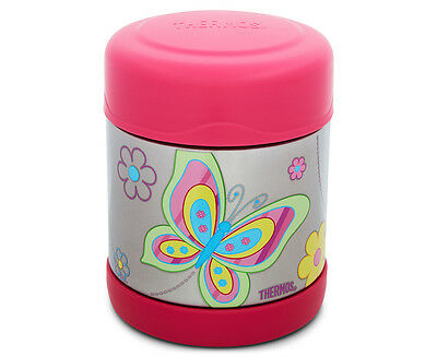 Thermos FUNtainer Stainless Steel Vacuum Insulated Food Jar 290mL - Butterfly