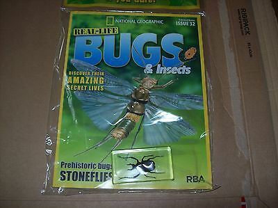 National Geographic Real-life Bugs & Insects magazine Issue 32
