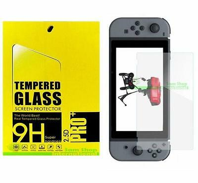 Premium Tempered Glass Screen Protector Shield For Nintendo Switch