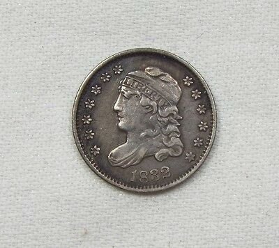 1832 Capped Bust Half Dime EXTRA FINE Silver 5c