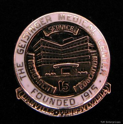GENSINGER MEDICAL CENTER - 15 Years Service PIN