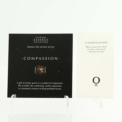 *BEAD NOT INCLUDED*New Pandora Essence Collection Compassion 40 Cards 40 Sleeves