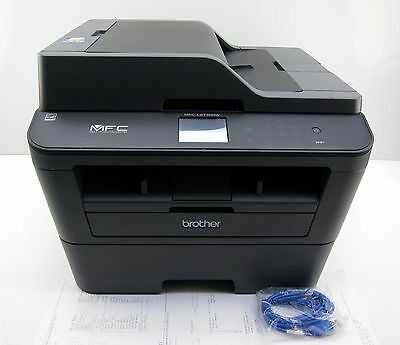Brother MFC-L2740DW Wireless Laser All-In-One Copier Printer Scanner Fax