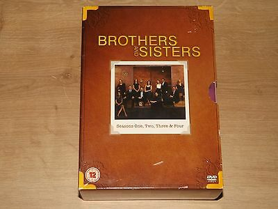 Brothers And Sisters - Series 1-4  Complete (DVD, 2010, 23-Disc Set, Box Set)vgc
