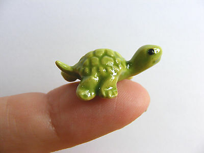 Hagen Renaker Baby Turtle Miniature Animal Figurine Support Wildlife Rehab