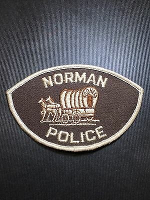 Norman Oklahoma  Police Shoulder  Patch