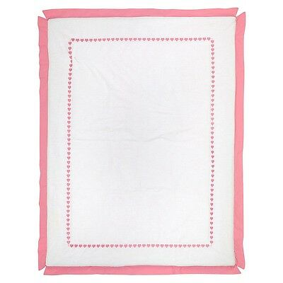 Sadie & Scout Little Meadow - Comforter with Pink Trim